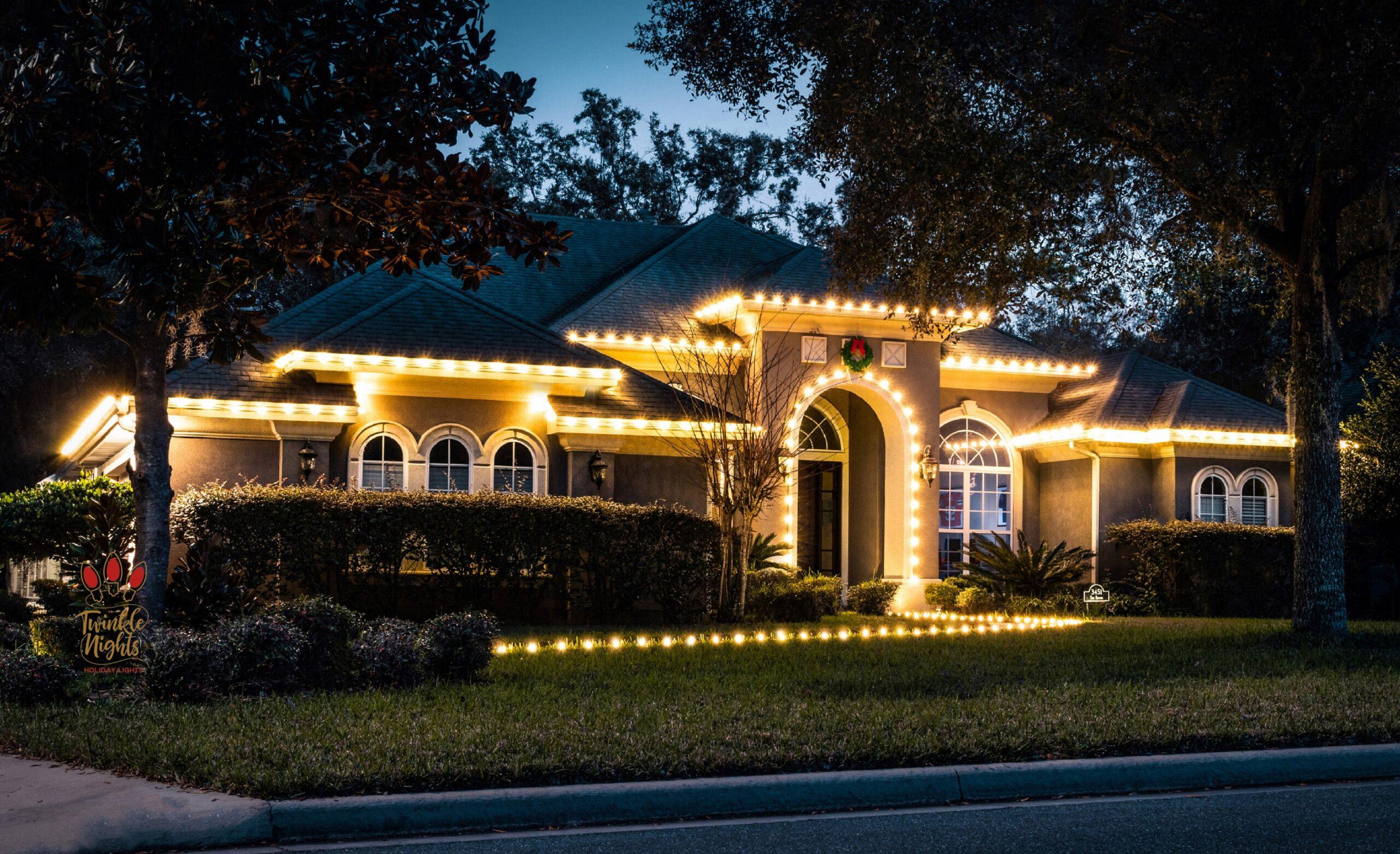 twinkle night holiday lights